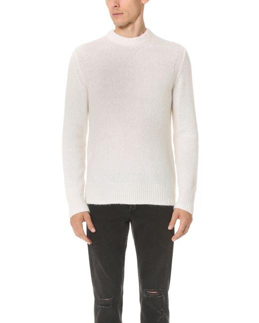 Rag & Bone | Black Oliver Crew Sweater for Men | Lyst