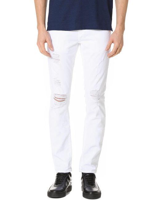 J Brand | White Tyler Slim Fit Jeans for Men | Lyst