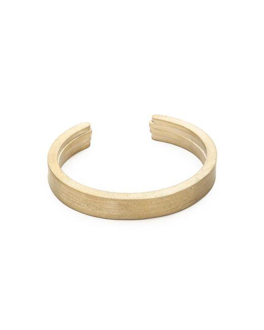 Miansai | Metallic Layered Brass Cuff for Men | Lyst