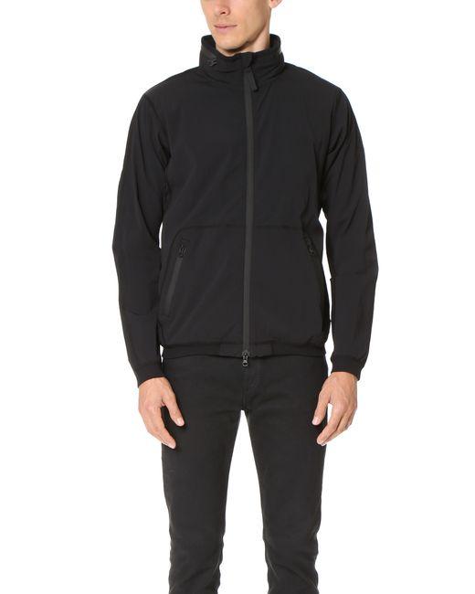 Steven Alan | Black Stretch Nylon Stowaway Jacket for Men | Lyst