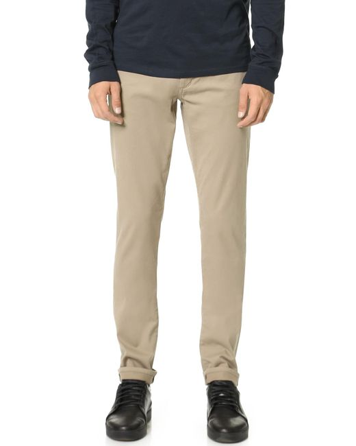 VINCE | Natural Essential 5 Pocket Soho Twill Jeans for Men | Lyst