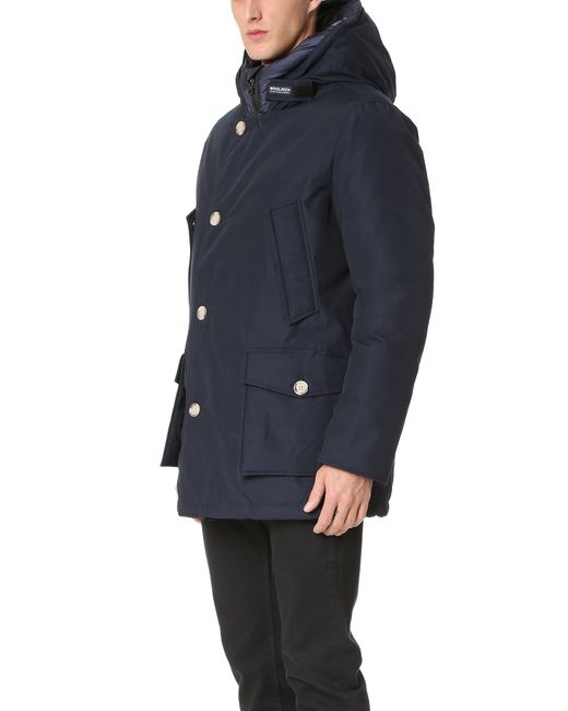 woolrich arctic parka in blue for men lyst. Black Bedroom Furniture Sets. Home Design Ideas