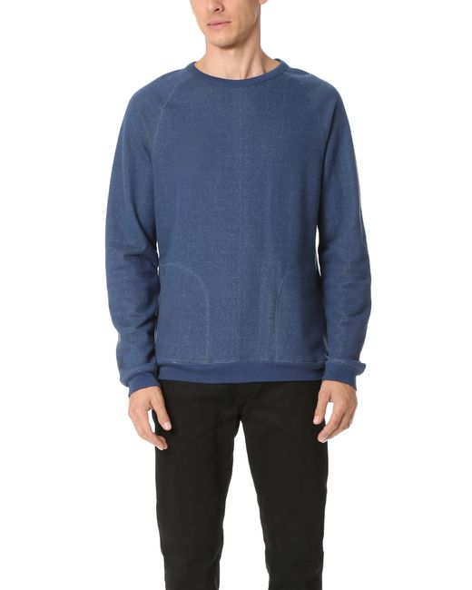 RVCA | Blue Matchbook Fleece for Men | Lyst