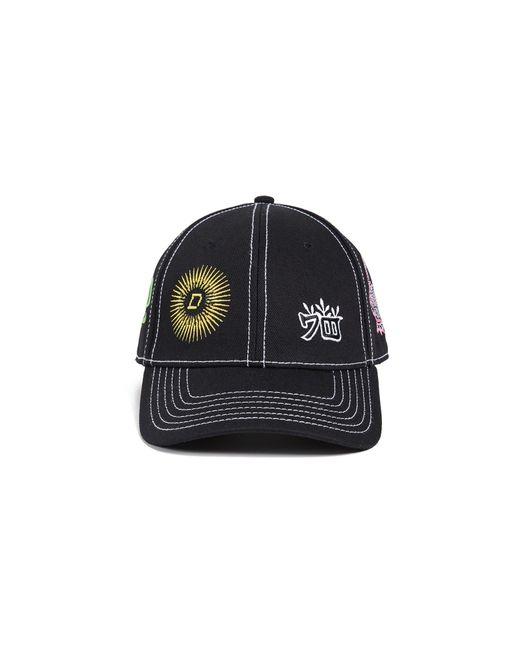 4db2ab74fde ... DIESEL - Black C-giap Patch Baseball Hat for Men - Lyst