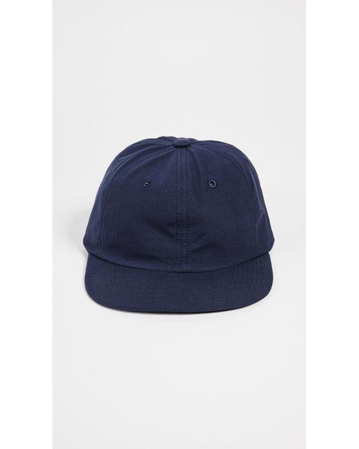 8870475674835c ... Maison Kitsuné - Blue Kissing Foxes Baseball Cap for Men - Lyst ...