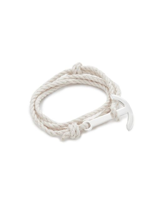 Miansai | Metallic Modern Anchor Rope Wrap Bracelet for Men | Lyst