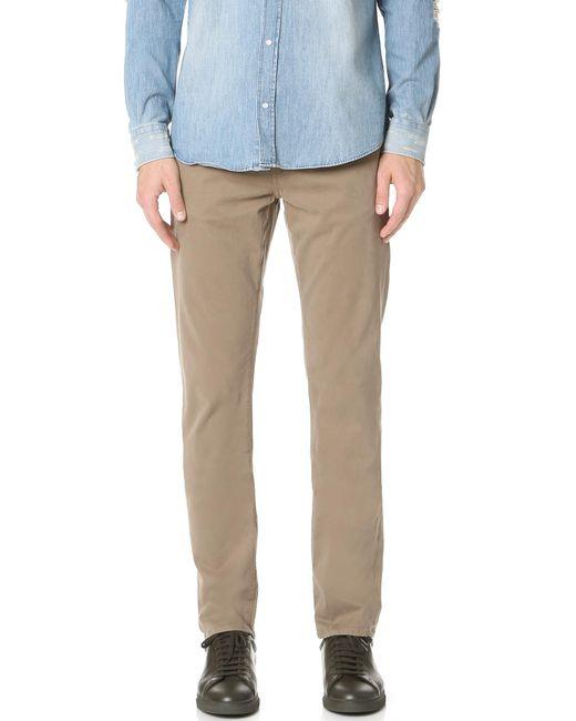 J Brand | Blue Kane Slim Straight Garment Dye Jeans for Men | Lyst