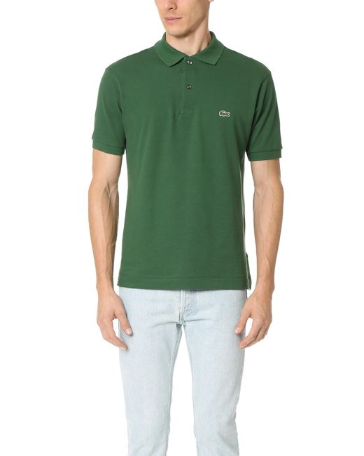 Lacoste | Green Short Sleeve Classic Polo Shirt for Men | Lyst