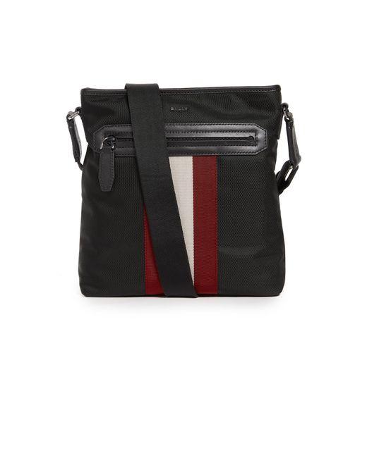 Bally | Black Currios Messenger Bag for Men | Lyst
