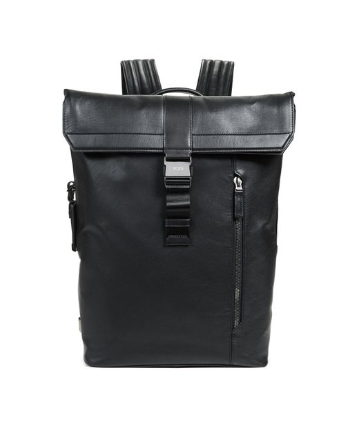 Tumi - Black Ashton Kenton Fold Over Backpack for Men - Lyst