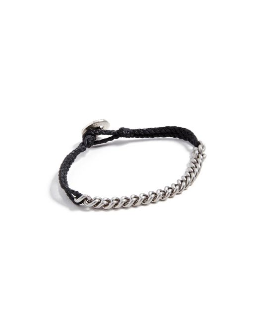 Scosha - Black Signature Chain Bracelet for Men - Lyst