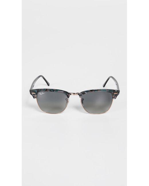 1b0d5b6bd1 Ray-Ban - Gray Clubmaster Sunglasses for Men - Lyst ...