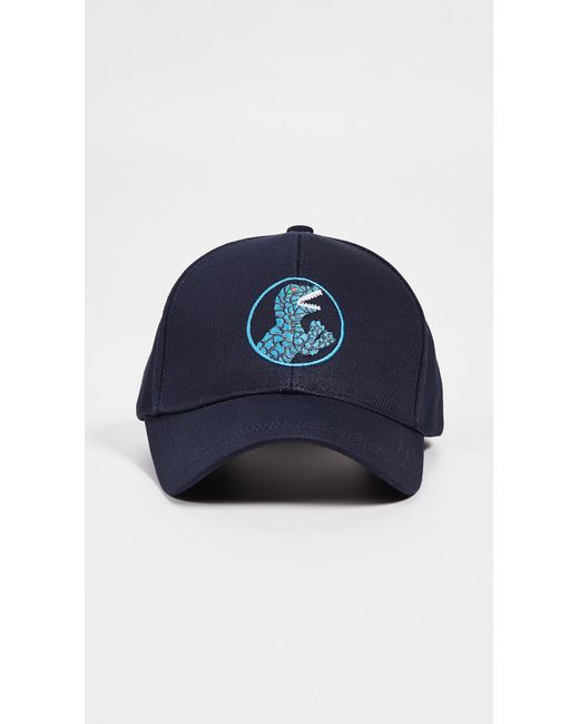 dfc3660316b Lyst - Paul Smith Dino Baseball Cap in Blue for Men - Save 33%