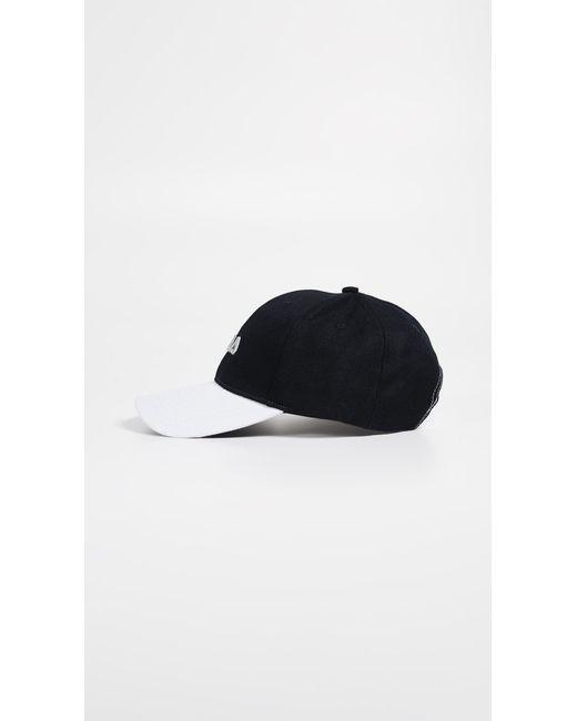 3560af7d155 ... Fila - Black Color Block Hat for Men - Lyst ...
