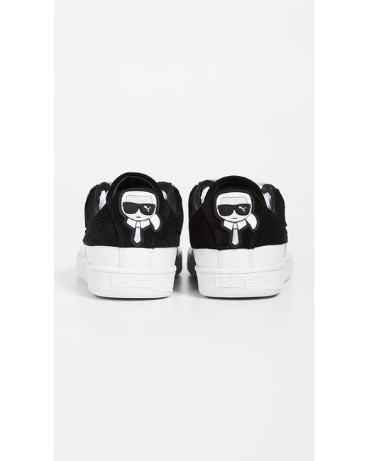 3736ad266a443a ... Puma Select - Black X Karl Lagerfeld 2 Suede Classic Sneakers for Men -  Lyst ...