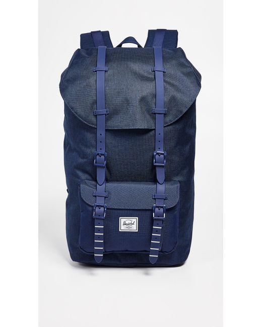 b3810867e4 Herschel Supply Co. - Blue Little America Backpack for Men - Lyst ...