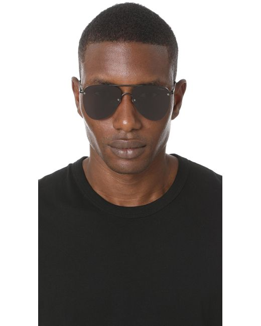ae722037b7 ... Le Specs - Black The Prince Sunglasses for Men - Lyst ...