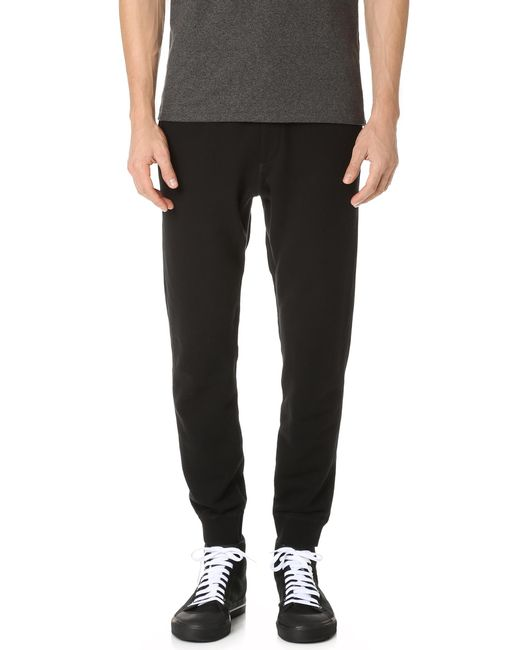 Rag & Bone - Black Standard Issue Sweatpants for Men - Lyst