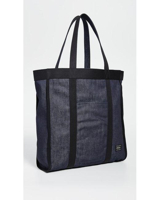 Porter - Black X Orgabits Reversible Denim Tote Bag for Men - Lyst