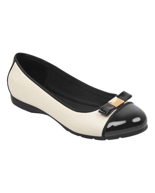 d6cd711e70 ... Easy Spirit - Black Dabi Ballet Flats - Lyst ...