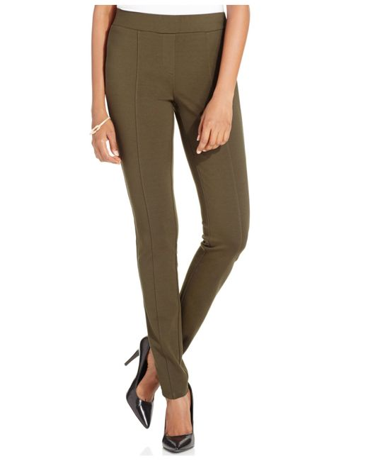Style & Co.   Green Ponte Leggings, Only At Macy's   Lyst