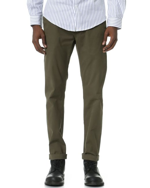 Ben Sherman | Green Casual Pants for Men | Lyst