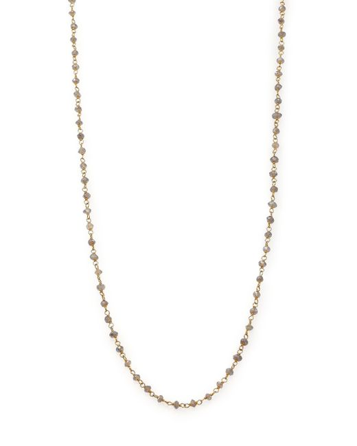 Chan Luu | Metallic Labradorite Beaded Chain Necklace | Lyst