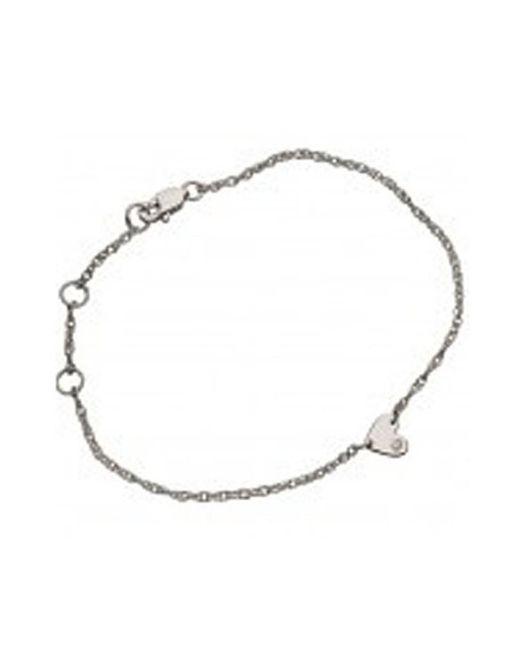 Jennifer Zeuner | Metallic Mia Mini Heart Bracelet | Lyst