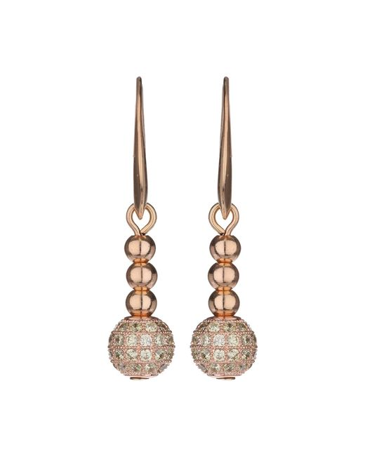 Mikey | Yellow Cubic Crystal Ball Drop Earring | Lyst