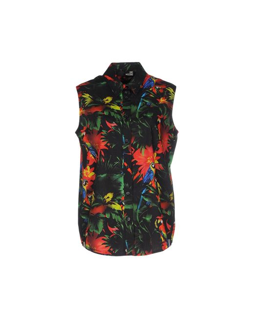 Love Moschino | Green Shirt | Lyst