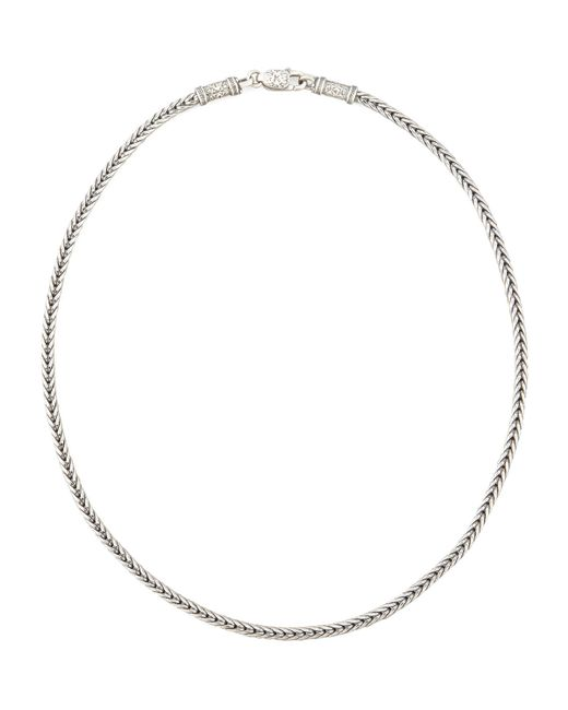 Konstantino | Metallic Sterling Silver Chain Necklace | Lyst
