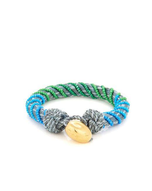 Aurelie Bidermann | Gray Maya Bead-embellished Bracelet | Lyst