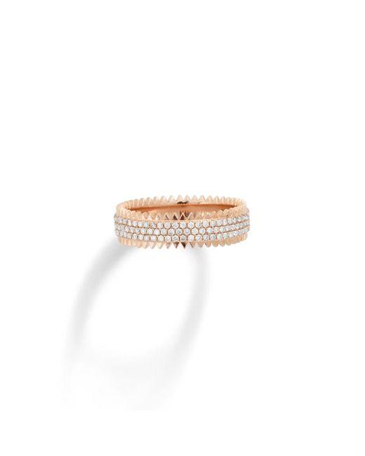 Eva Fehren | Pink Triple Zipper Ring | Lyst
