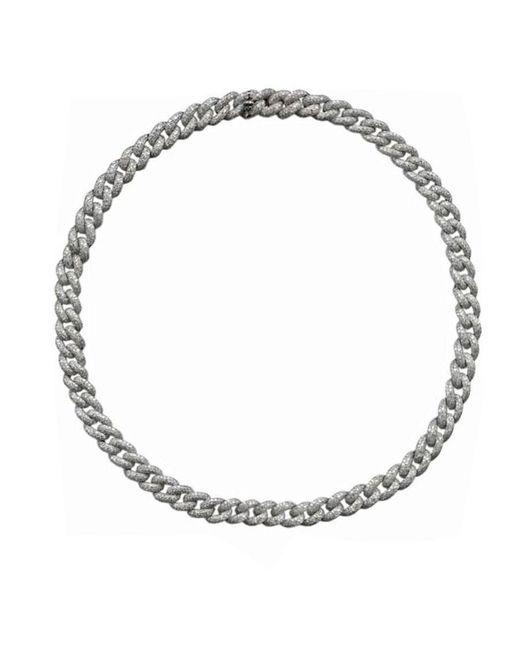 SHAY - Metallic Essential Pavé Diamond Link Necklace - Lyst