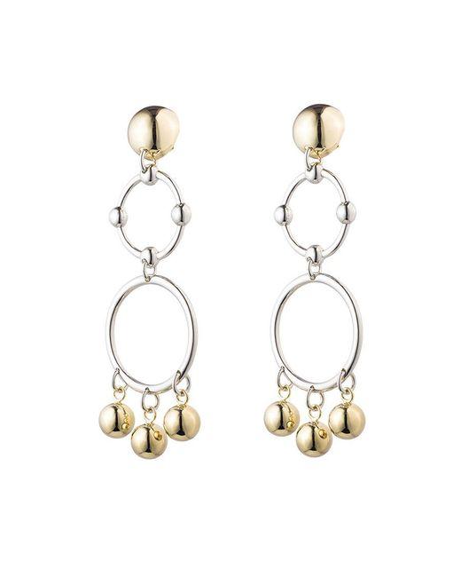 Eddie Borgo | Metallic Barbell Chandelier Earrings | Lyst