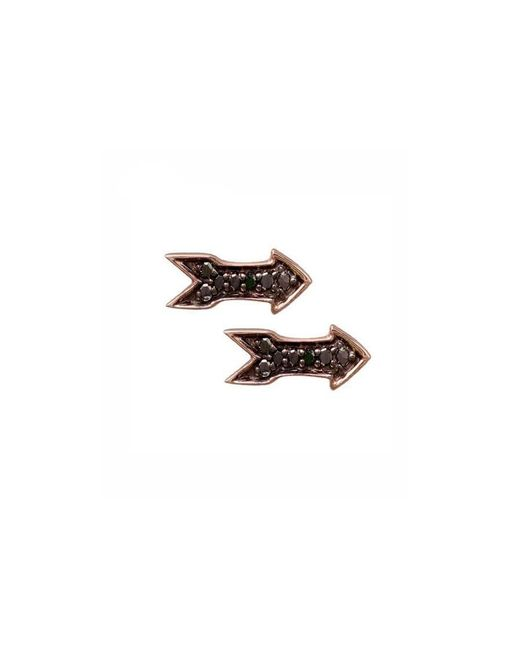 Sydney Evan | Pink Arrow Stud Earrings | Lyst