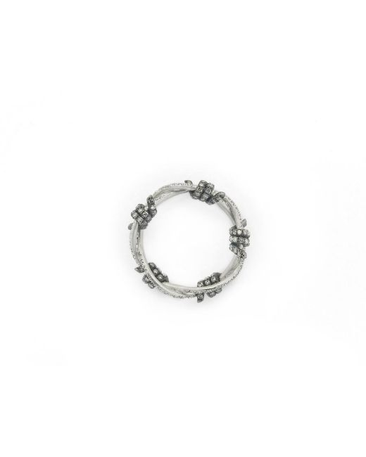 Lauren X Khoo   Editorialist Exclusive: Liberation 5-wire White Gold Ring   Lyst