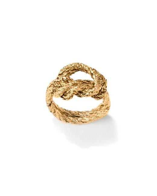 Aurelie Bidermann - Metallic Lasso Ring - Lyst
