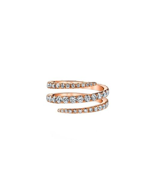 Anita Ko | Diamond Pinky Coil Ring | Lyst