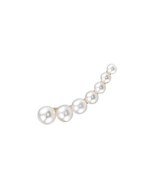 Anita Ko | Metallic Floating Pearl Earring | Lyst
