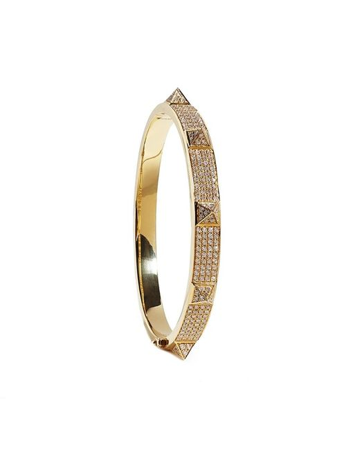 Anita Ko   Metallic Spike Diamond Bracelet   Lyst