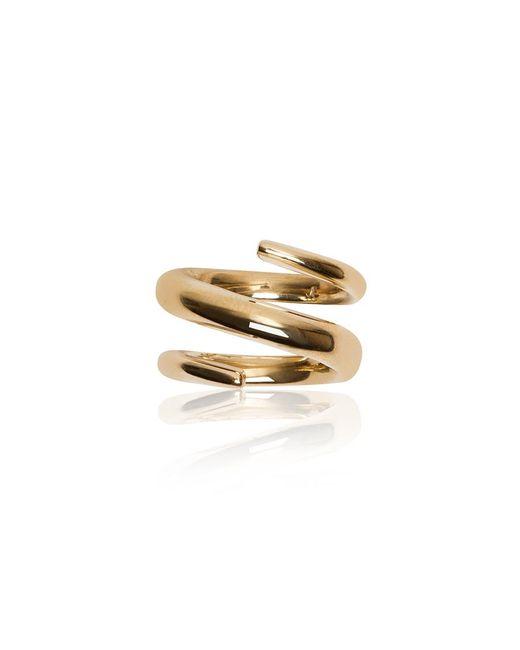 Jennifer Fisher | Metallic Twisted Cylinder Ring | Lyst