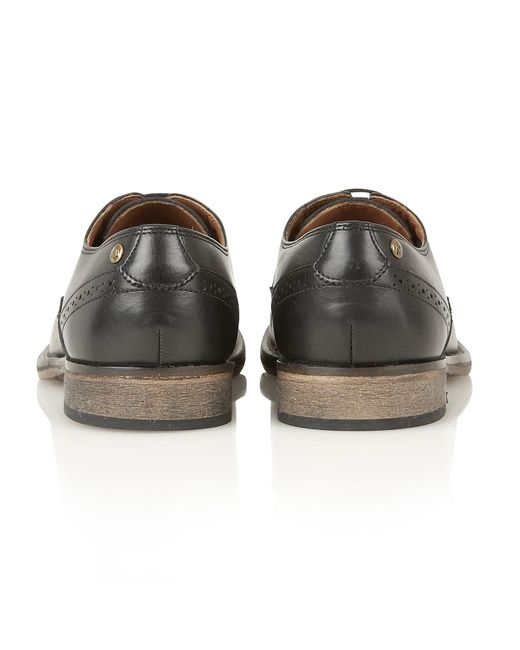 Frank Wright | Black Merton Mens Lace-up Shoes for Men | Lyst
