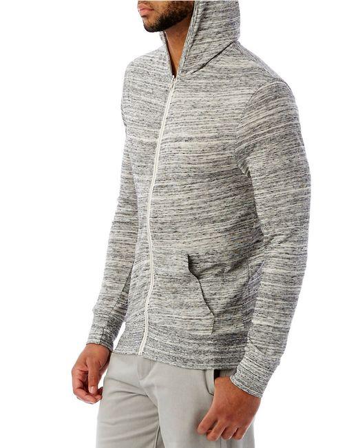 Alternative Apparel | Gray Eco Zip Hoodie for Men | Lyst