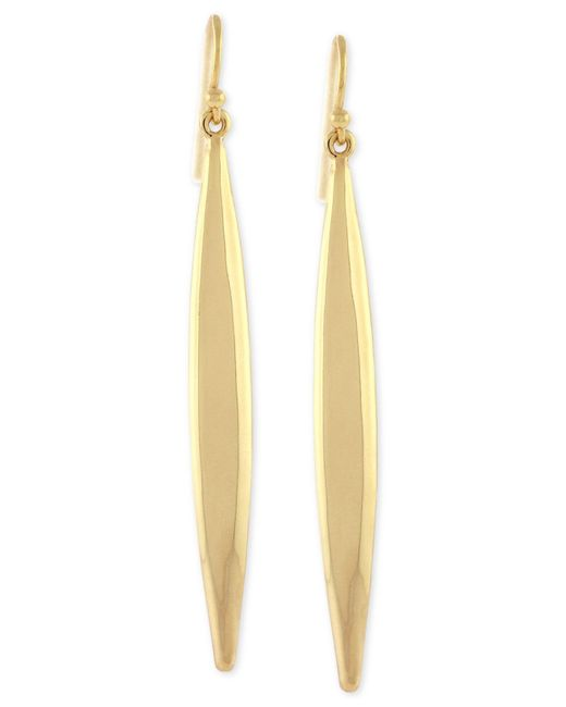 Vince Camuto | Metallic Marquee Linear Drop Earrings | Lyst