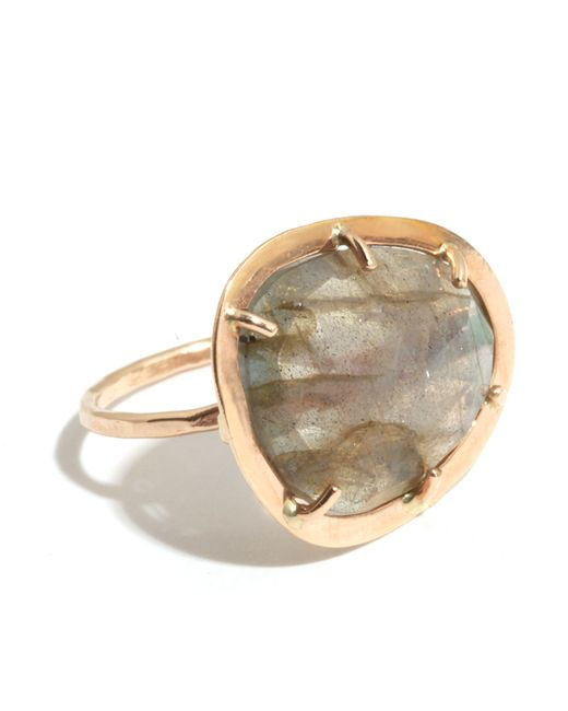 Melissa Joy Manning | Metallic Cage Set Labradorite Ring | Lyst