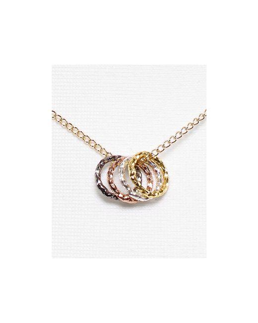 "Dogeared | Multicolor Tiny Sparkle Karma Necklace, 18"" | Lyst"