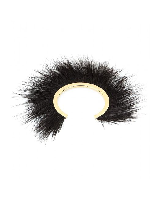 Isabel Marant | Black Silver-tone Feather Cuff | Lyst