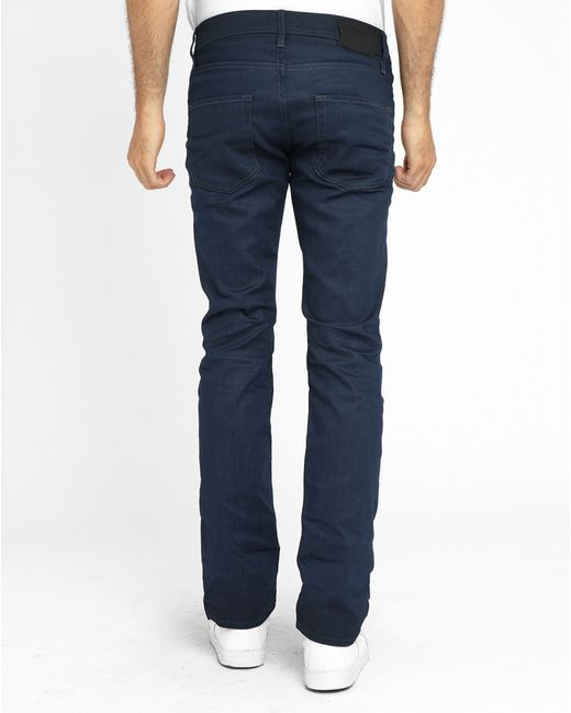 jack jones dark denim clark slim fit jeans in blue for men lyst. Black Bedroom Furniture Sets. Home Design Ideas