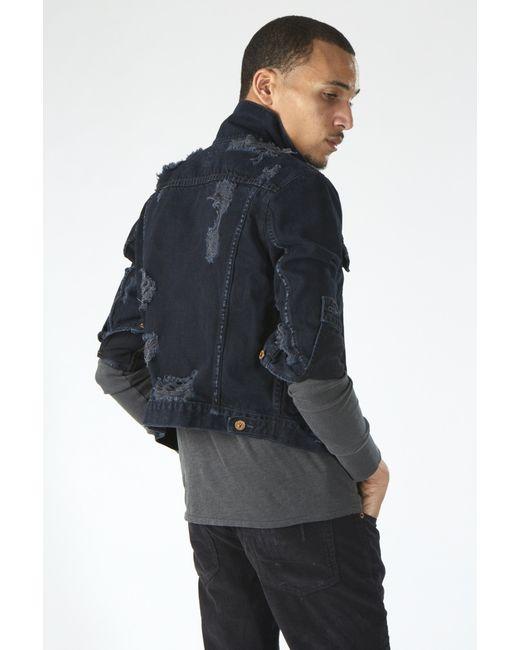 NSF | Black Adams Trucket Jacket for Men | Lyst